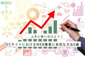 ECサイトにおけるWEB集客に有効な方法6選